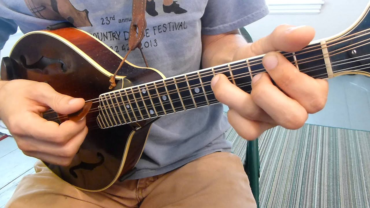 Jazz Mandolin Chords ii V I (Part 1) - Mandolin Lesson - YouTube