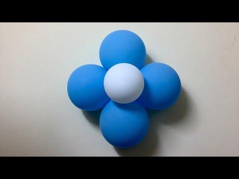 Balloon flower||Easy balloon decoration||Tutorial 1||Ep#12 thumbnail