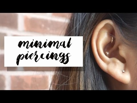 Conch Rook Piercing Experience Healing Changing To Bvla Jewelry