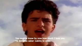 Glenn Medeiros / Nothing's Gonna Change My Love For You / English - Spanish (REMASTERED)
