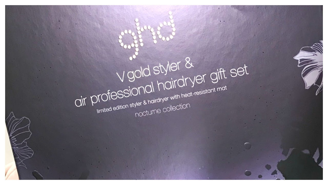 GHD  straightener unboxing