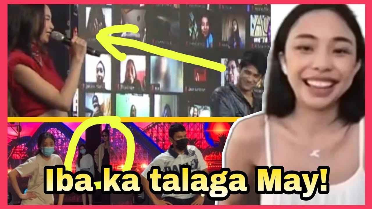 Mga kasamahang artista napatitig kay Maymay sa ginawa nito offcam!
