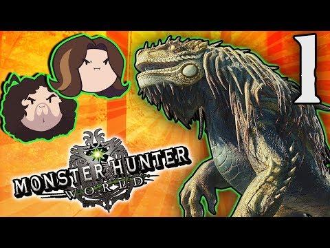 Monster Hunter World: Creating a Beautiful Character - PART 1 - Game Grumps