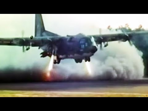 How to Land an AC 130 in a Football Stadium - Operation Eagle Claw
