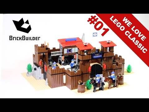 We Love Lego Classic #01 - 6769 Fort Legoredo - 1996 - BrickBuilder