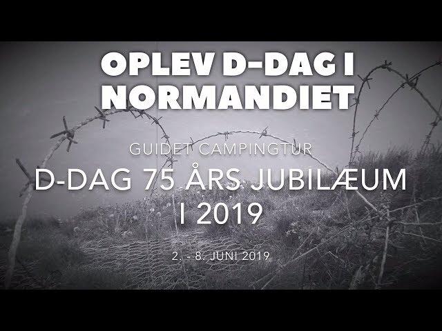 D-dag 75 års jubilæum - Guidet campingtur (sort/hvis film)