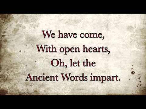 Ancient Words A cappella - by Christy Poff Maxwell, written by Michael W. Smith