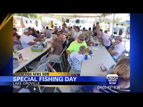 CAST for special needs kids is popular annual fishing event on Lake Oroville