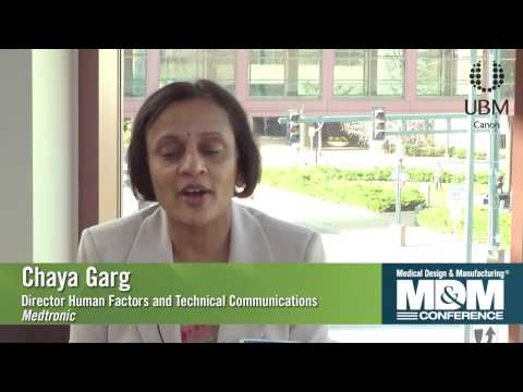 Chaya Garg discusses her session at the MD&M Minneapolis Conference