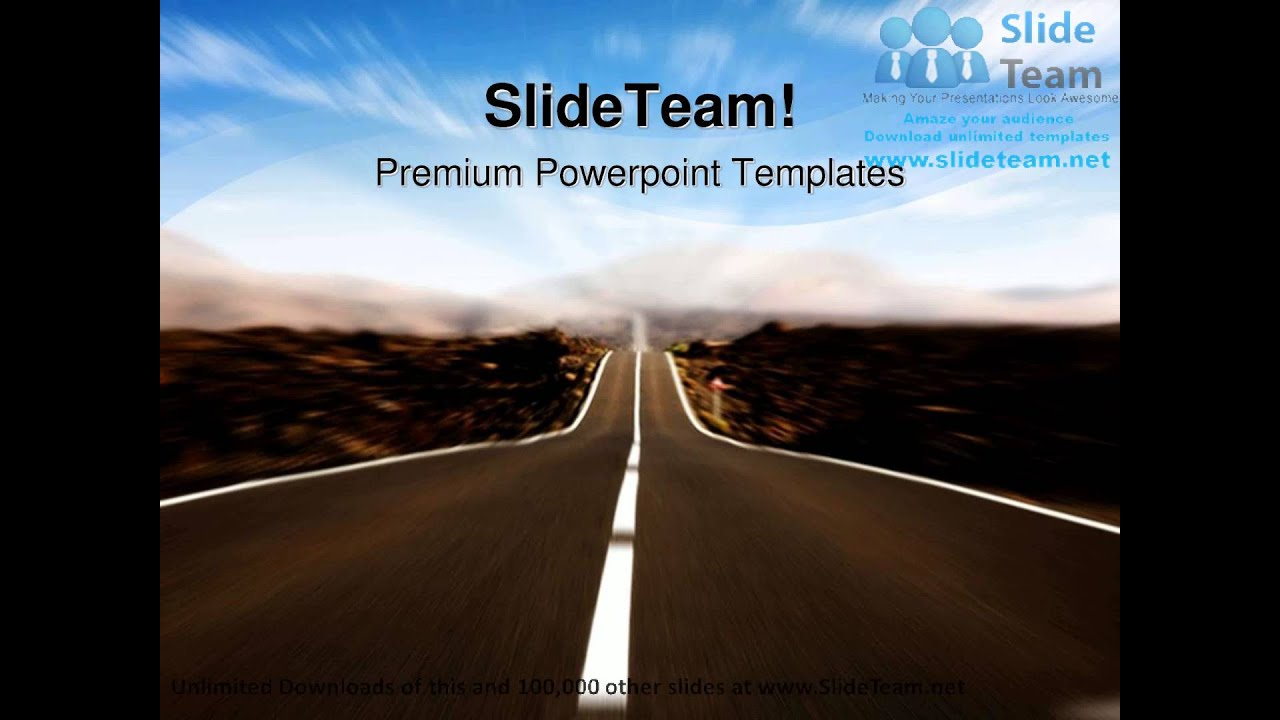 road in motion future powerpoint templates themes and backgrounds, Powerpoint