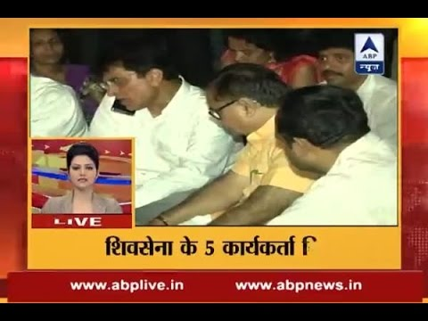 5 Shiv Sena workers arrested for assault on BJP MP Kirit Somaiya in Dussehra event