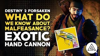 Destiny 2 Forsaken | What Do We Know About Malfeasance?