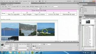 Dreamweaver Cs5   Nested Tables And Importing Pictures