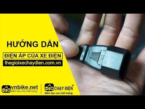 Hướng dẫn đo điện ap sạc xe điện