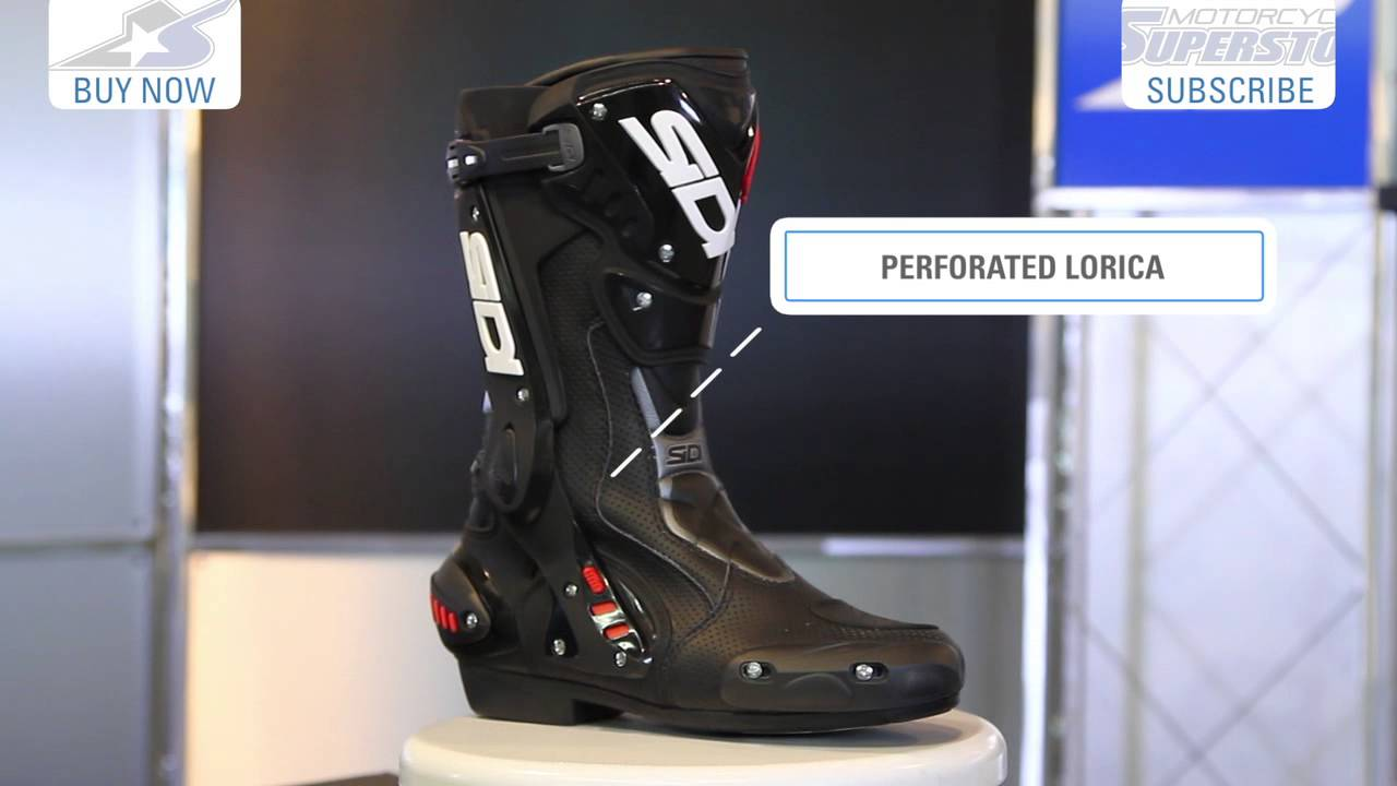 Sidi ST & ST Air Boots Review at YouTube