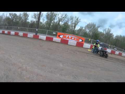 4/17/16 Practice Circle Track 50cc Kc Raceway