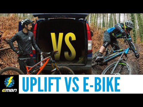 Uplift Vs E Bike | Are E Mountain Bikes The Death Of Shuttling?