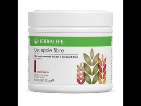 HERBALIFE new product APPLE OAT FIBRE - YouTube
