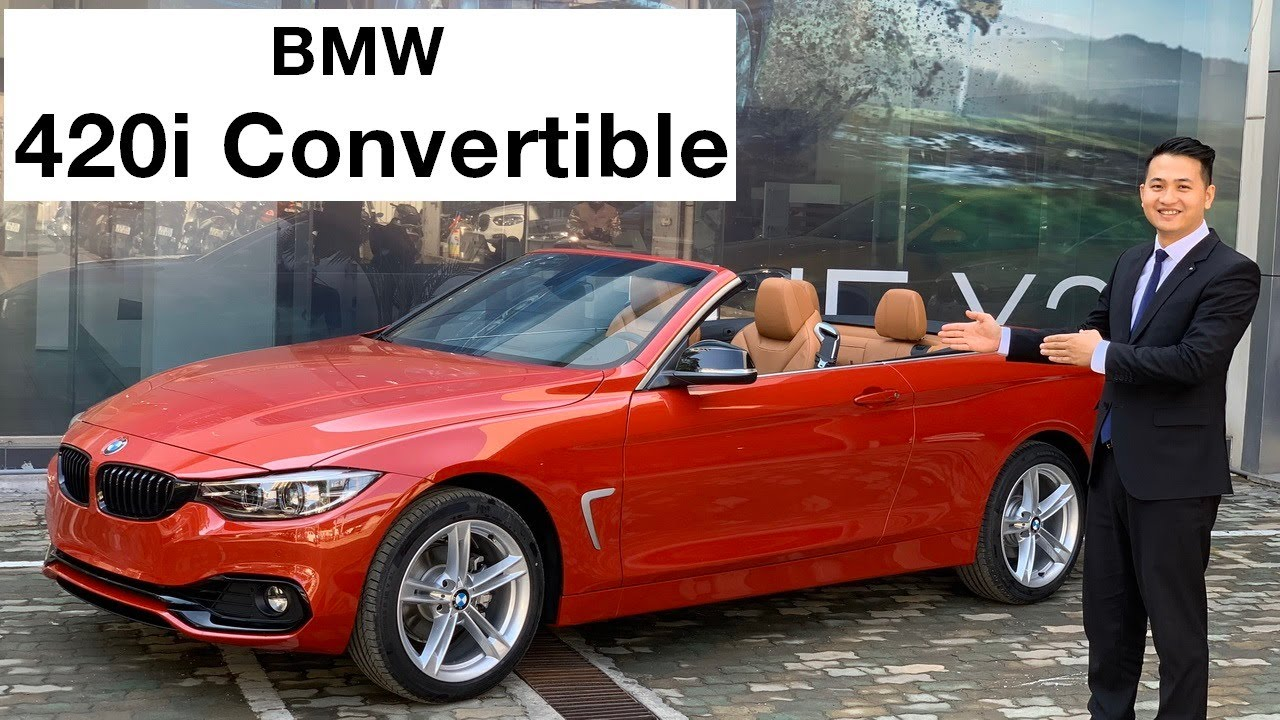 BMW 420i mui trần 2020 có gì đặc biệt? Chi tiết BMW 420i Convertible 2020 | Hotline BMW: 0902828386
