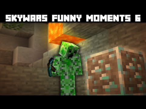 Skywars Funny Moments 6 | Made With 100% Real Moments!