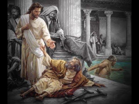 Jesus sana al paralitico de Betesda Oct 2017 - YouTube