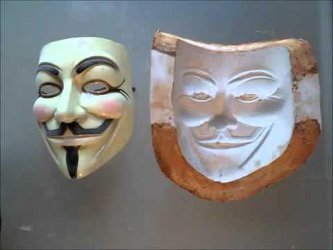 Cara Pembuatan Mask Anonymous Youtube