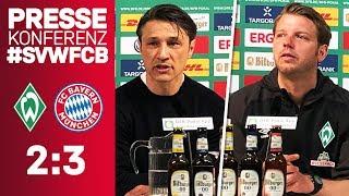 We go to Berlin! |Press Conference w/ Niko Kovac & Florian Kohfeldt after #SVWFCB | DFB Cup
