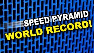 Tallest Domino Speed Pyramid (World Record)