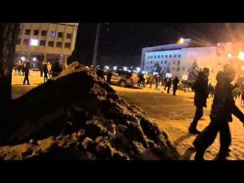 Осада ОГА (ОДА).  Днепропетровск 2014.01.26