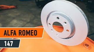 Kako zamenjati spredaj zavorni diski na ALFA ROMEO 147 (937) [VIDEO VODNIK AUTODOC]