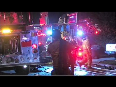 House Fire Injures 1 Person & Destroys Home In Modesto, California - News Story