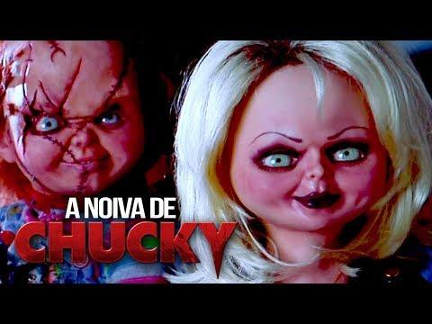 TIFY, A NAMORADA DE CHUCKY! A Noiva de Chucky  1998   do Maníaco 54