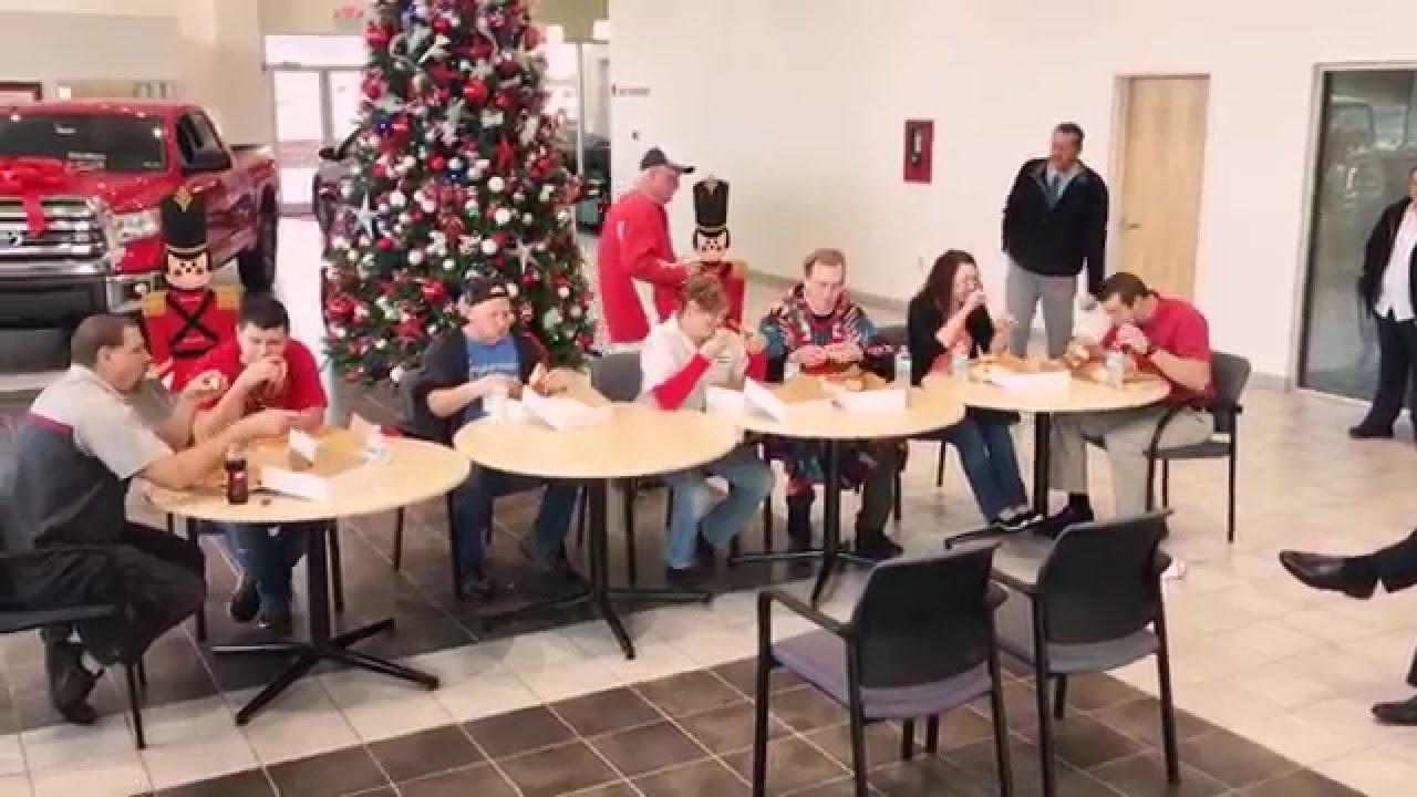 Superior Toyota/Hyundai Doughnut Eating Contest