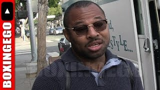 """Shane Mosley WARNS Conor McGregor """"HE WILL NOTICE HOW HARD MAYWEATHER HITS"""" SUPRISE!"""