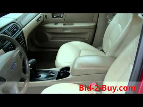 2002 Ford Taurus SEL 4 Door 24 Valve Dual Overhead Cam