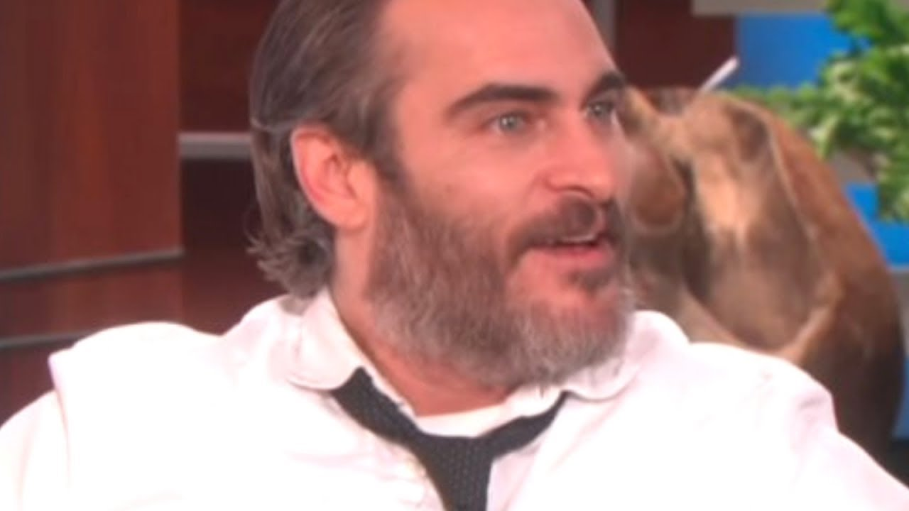 Joaquin Phoenix Has A Habit Of Making Interviews Super Awkward