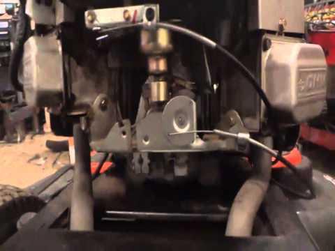 lawn mower carburetor hookup