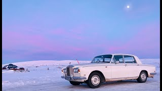Driving a '69 Rolls Royce Shadow to the Arctic in the middle of winter