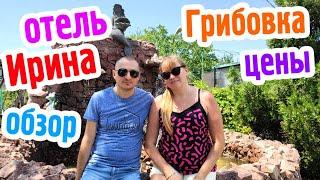 Сезон 2020 Обзор отеля Ирина в Грибовке Цены на еду и проживание Море Пляж Отдых в Грибовке