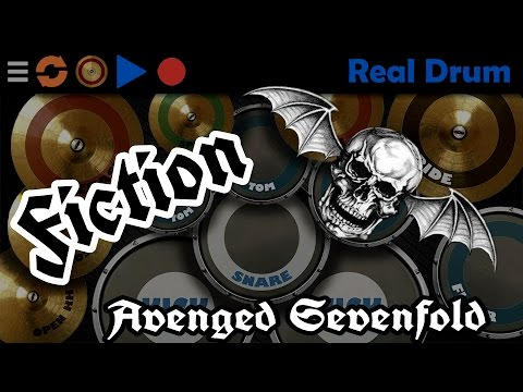 Fiction Avenged Sevenfold Real Drum Cover Youtube