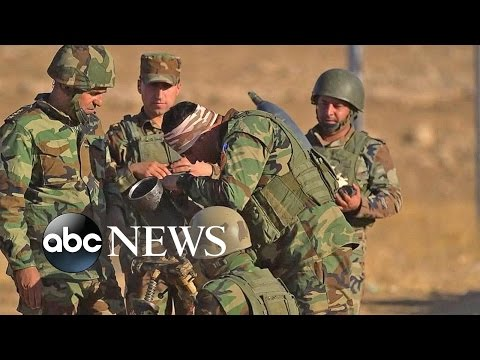 Iraqi Offensive Battle for Mosul Begins