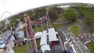 Enchanted Kingdom Space Shuttle panasonic HX-A500 4K Video エンチャ...