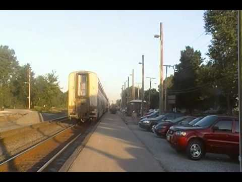 Amtrak Capitol Limited Arriving Waterloo Indiana