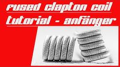 Fused Clapton Coil Tutorial (deutsch). Für Anfänger!!! So leicht baust du dir deine Fused Claptons.