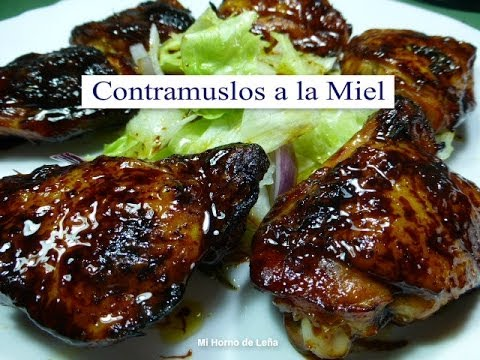 Contramuslos De Pollo A La Miel (Receta Fácil)   YouTube