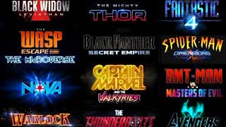 FULL MARVEL STUDIOS PHASE 4 SLATE ANNOUNCEMENT Breakdown and Speculation