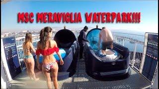 Cruise Ship Waterpark - MSC Meraviglia