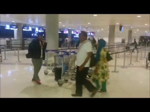 Inside Abu Dhabi International Airport Terminal 3 2016 latest condition