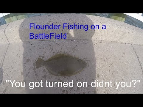 Flounder Fishing On A Battlefield? (Sabine Lake,Texas)