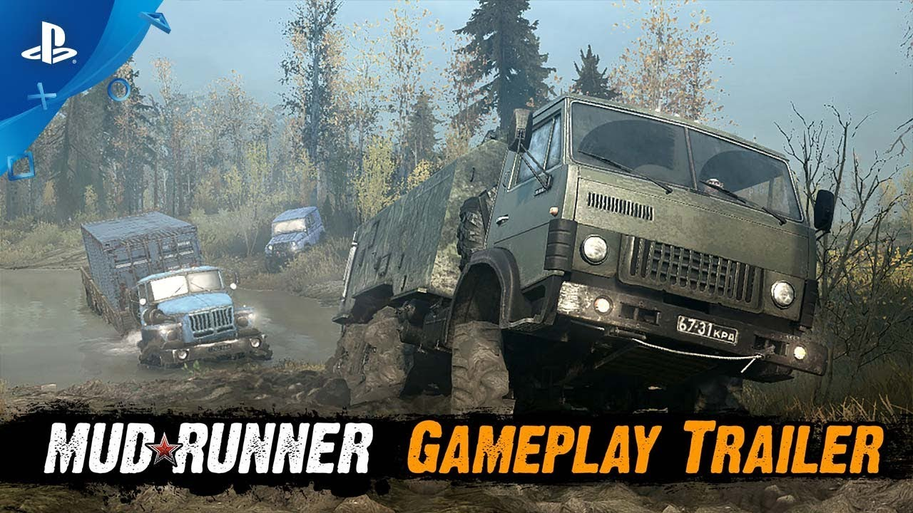 spintires mudrunner ps4 au meilleur prix sur. Black Bedroom Furniture Sets. Home Design Ideas
